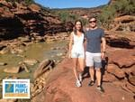 PARKS FOR PEOPLE - Heidi and Leith Teakle - Z Bend Gorge Kalbarri.