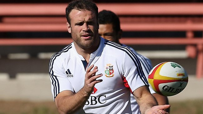 Jamie Roberts is a key plank in the Lions' third Test game plan. Photo by David Rogers/Getty Images