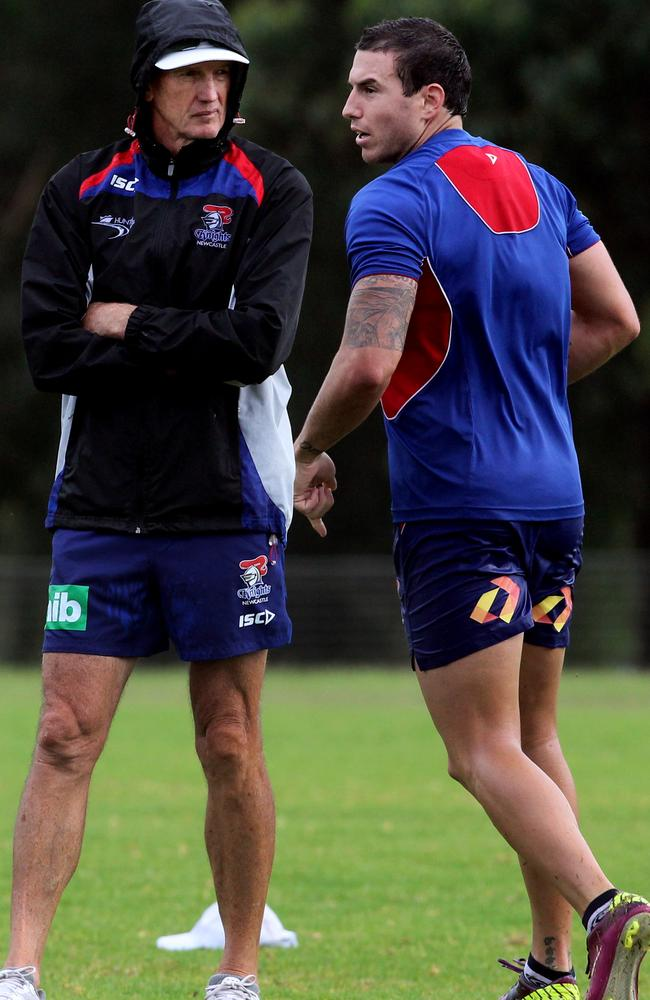 Darius Boyd has spent his whole career being coached by Wayne Bennett..