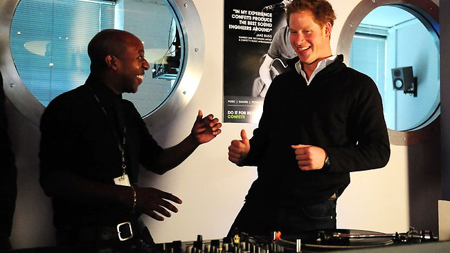 Prince Harry DJ