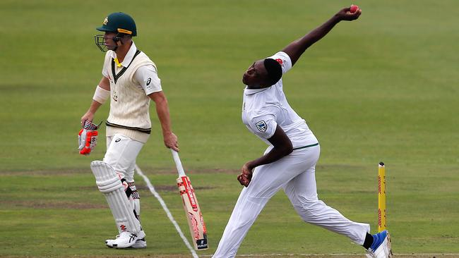 Lungi Ngidi wants to make headlines with his line and length.