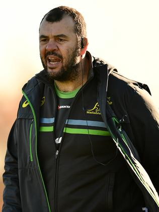 Michael Cheika wants his forwards to set a platform for the backs.