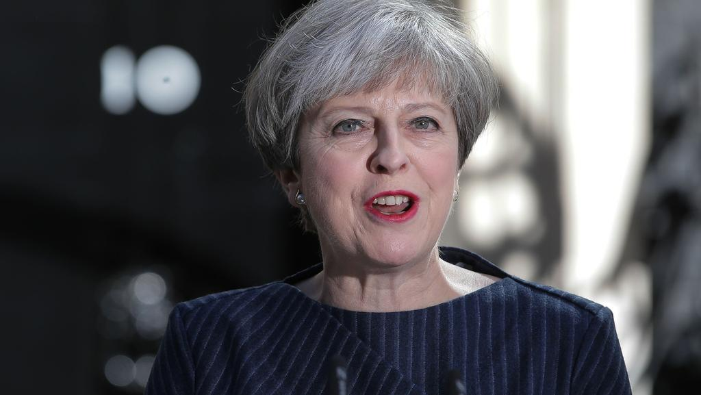 Messy: British Prime Minister Theresa May calls for a snap election. Picture: AFP