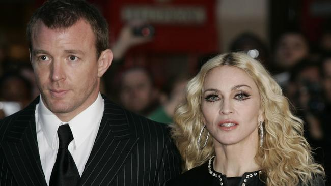 The Guy Ritchie, Madonna split has turned ugly. Picture: AP Photo/Sang Tan