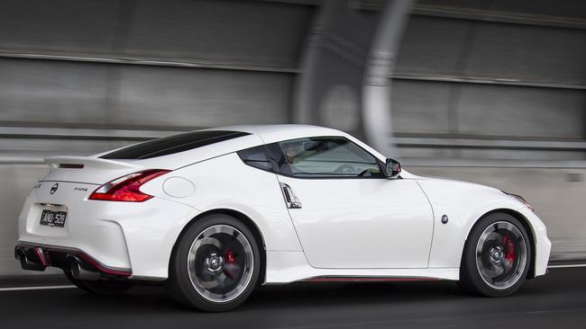 The Nismo treatment gives the car more presence on the road. Pic: supplied.
