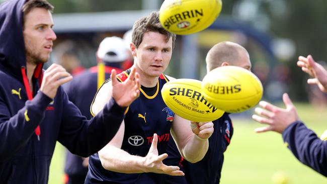 Patrick Dangerfield is in good form and loves playing Collingwood. Picture: Sarah Reed.