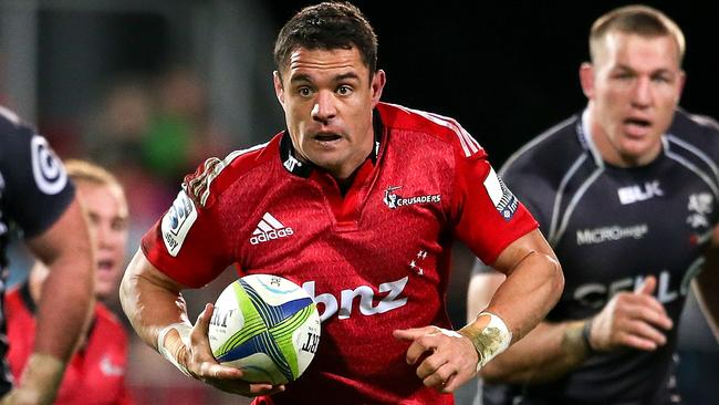 Dan Carter has been building his form with the Crusaders.