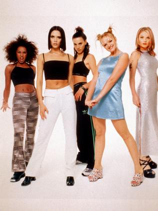 The Spice Girls in 1997. Picture: Supplied