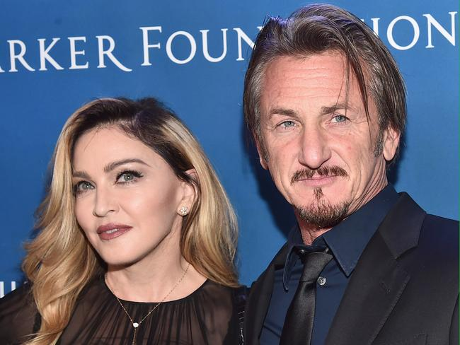 Public appearance ... Sean Penn attended a Hollywood fundraiser for Haiti with Madonna. Picture: Alberto E. Rodriguez/Getty Images for J/P HRO