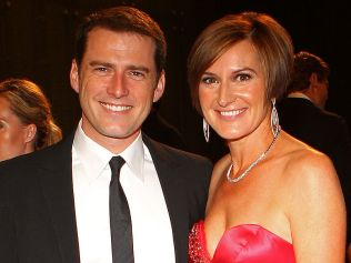 Karl Stefanovic and his wife Cassandra at 2011 Logie Awards in Melbourne. Photo: Scott Barbour: Getty Images.