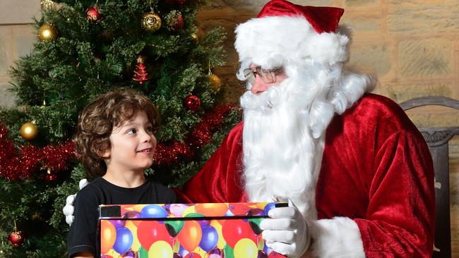 Father Christmas will join in the fun at the Walkerville Christmas Fair. Source: File