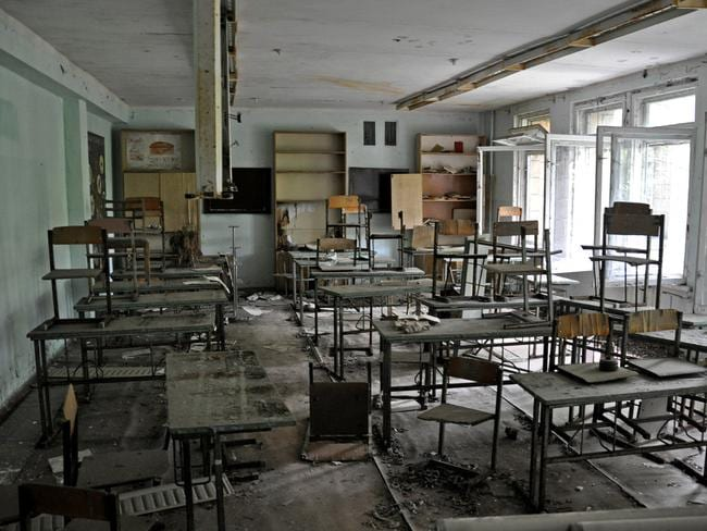 Classrooms abandoned. Picture: Anosmia.