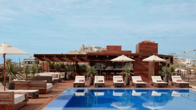 The five-star Ibiza Gran Hotel.