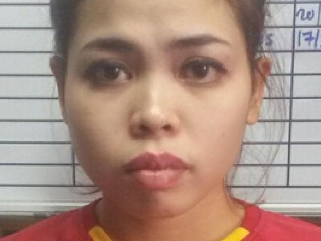 Siti Aisyah of Indonesia faced death by hanging if found guilty of the assassination of Kim Jong-Nam. Picture: AFP