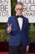 The Good Wife's Alan Cumming arrives at the 73rd annual Golden Globe Awards on Sunday, Jan. 10, 2016, at the Beverly Hilton Hotel in Beverly Hills, Calif. Picture: Jordan Strauss/Invision/AP