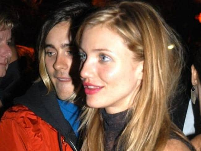 Dated ... Jared Leto and Cameron Diaz during Miramax 2003 Golden Globes Party.