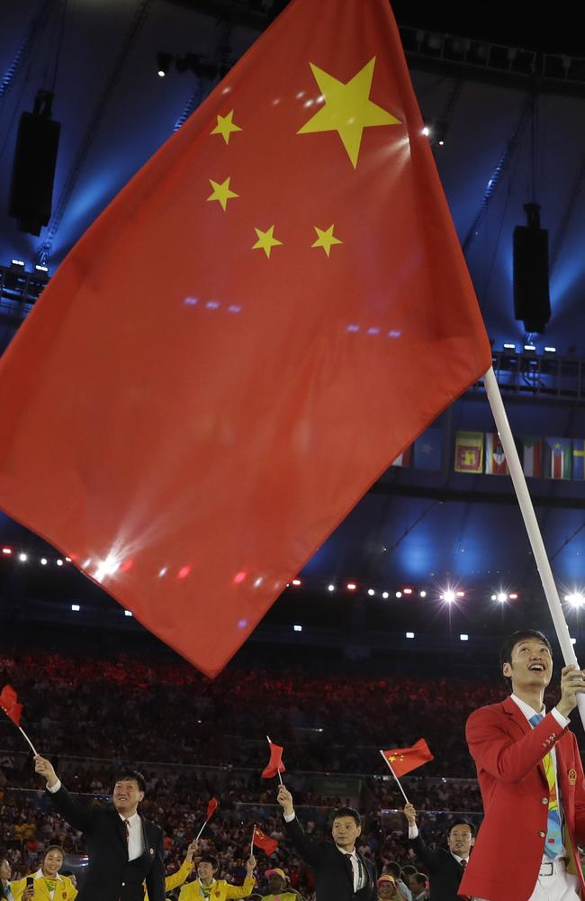 Rio Olympics 2016 China S Flag Mix Up Sparks Anger Online
