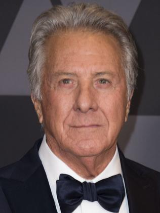 Accused actor Dustin Hoffman in 2017. Picture: AFP
