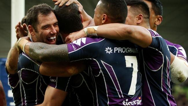 The return of their Origin players will be a boost to the Storm. Pic: Colleen Petch