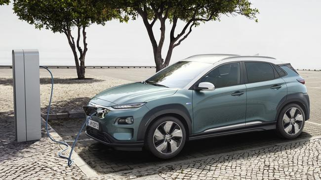 Affordable: the Hyundai Kona electric vehicle. Pic: Supplied.
