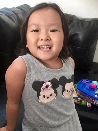 Annabelle Nguyen, 4, from Perth is one of 40 children being worked on in Mexico. Picture: Supplied