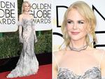 Nicole Kidman at the 74th Annual Golden Globe Awards on January 8, 2017 in Beverly Hills, California. Picture: AFP/Getty