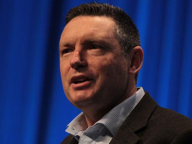 Lyle Shelton didn't deserve the social media vitriol after the same-sex marriage bill passed. Picture: AAP Image/Ben Rushton