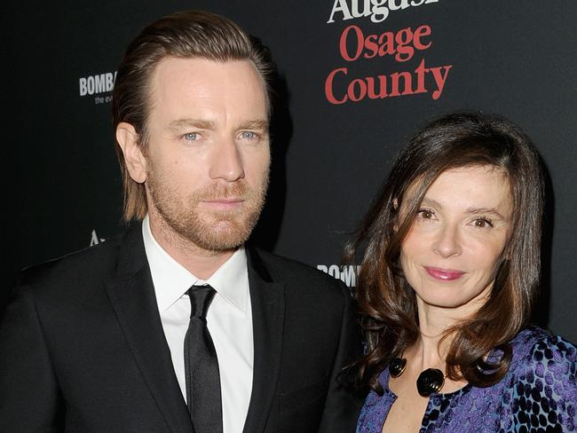 Ewan McGregor and Eve Mavrakis in 2013. Picture: Getty