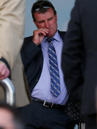 Another treble: Trainer Darren Weir. Picture: Colleen Petch