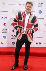 Kyle Bielfield arrives on the red carpet for the 30th Annual ARIA Awards 2016 at The Star on November 23, 2016 in Sydney, Australia. Picture: Jonathan Ng