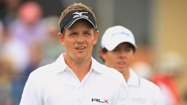 Luke Donald (L) and Rory McIlroy are showing why they are the top two ranked golfers in the world. Picture: Getty