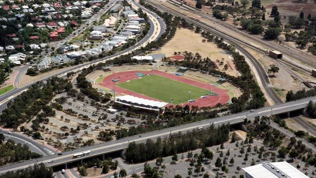 SA Athletics Stadium in Mile End.