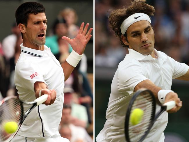 Djokovic was after his second Wimbledon title. Federer was seeking his eighth.