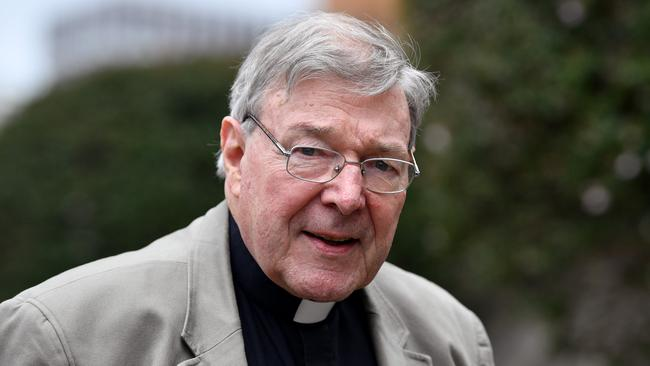 Cardinal Pell vehemently denies the allegations against him. Picture: AAP