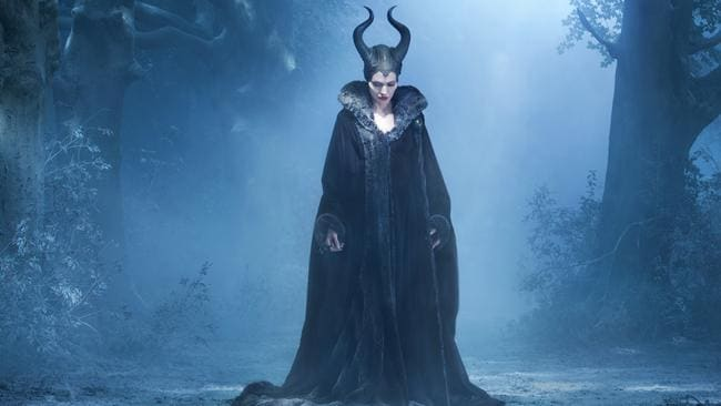 Angelina Jolie stars in Disney's Maleficent as the wicked witch Maleficent.