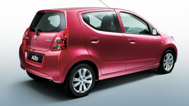 Attractive price ... the Suzuki Alto starts from under $12,000.