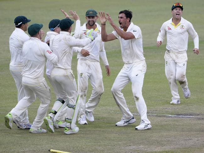Australia have claimed the opening Test.