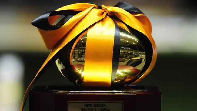 The Golden Easter Egg is Sydney's signature greyhound race.