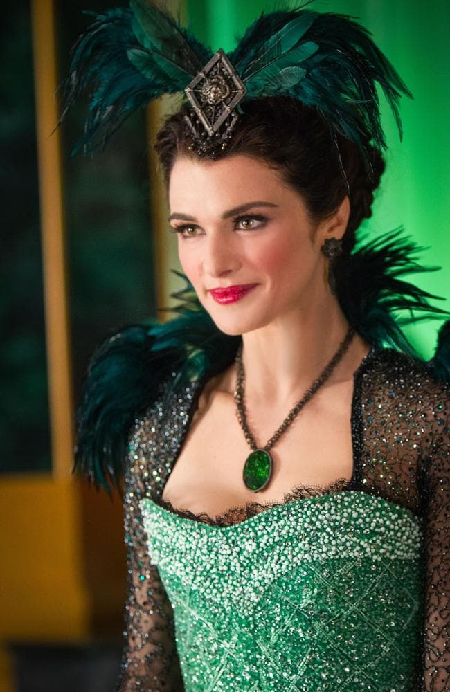 Rachel Weisz plays Evanora in  <i>Oz: The Great and Powerful</i>