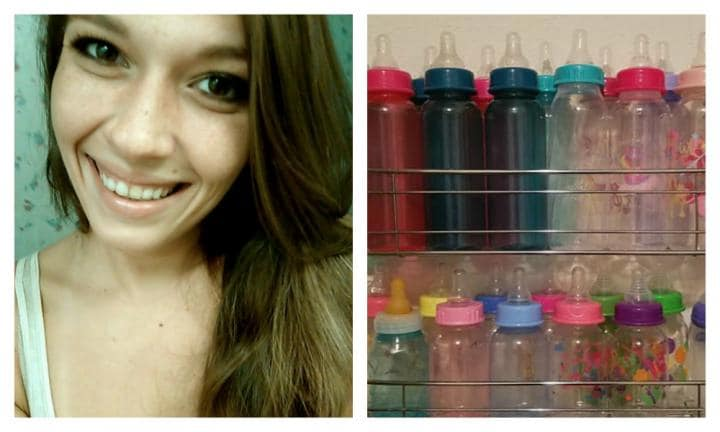 Mum's genius bottle storage hack goes viral. And it costs less than $15