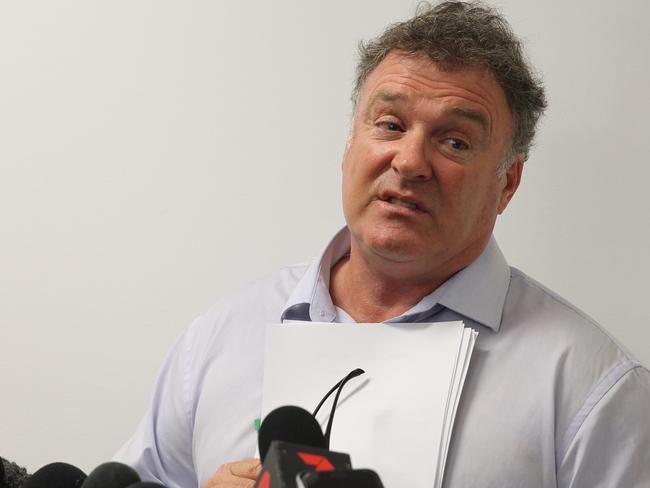 Rod Culleton is fighting to keep his Senate seat. Picture: AAP