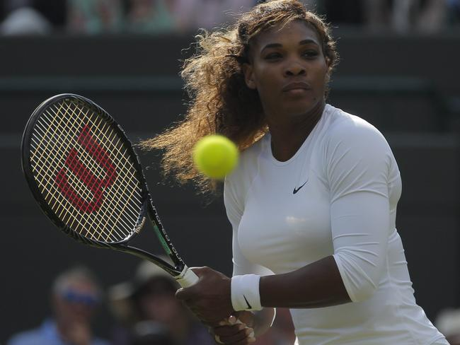 Serena Williams was the most popular female athlete.
