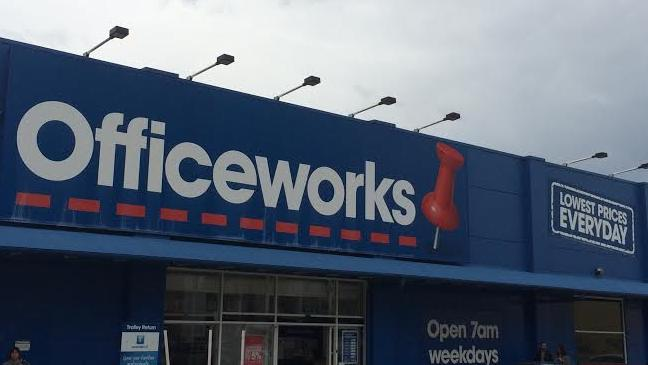 Around 15 youths of African appearance marched into Officeworks in South Yarra and stole products including headphones and speakers. Picture: Stock image