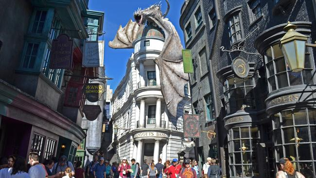 The Wizarding World of Harry Potter at Universal's Orlando Resort. Picture: Zak Simmonds