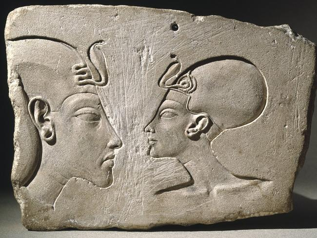 Little remains depicting Akhenaten or Nefertiti. A concerted campaign in antiquity was directed at wiping all trace of the heretic couple from history.