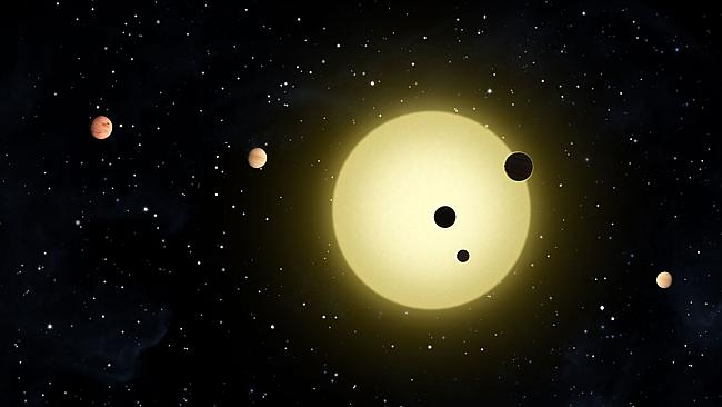 Prime contender ... Kepler-11, a sun-like star around which six planets are known to orbit, including some that initially appeared to be in habitable zones. Picture: AP / NASA