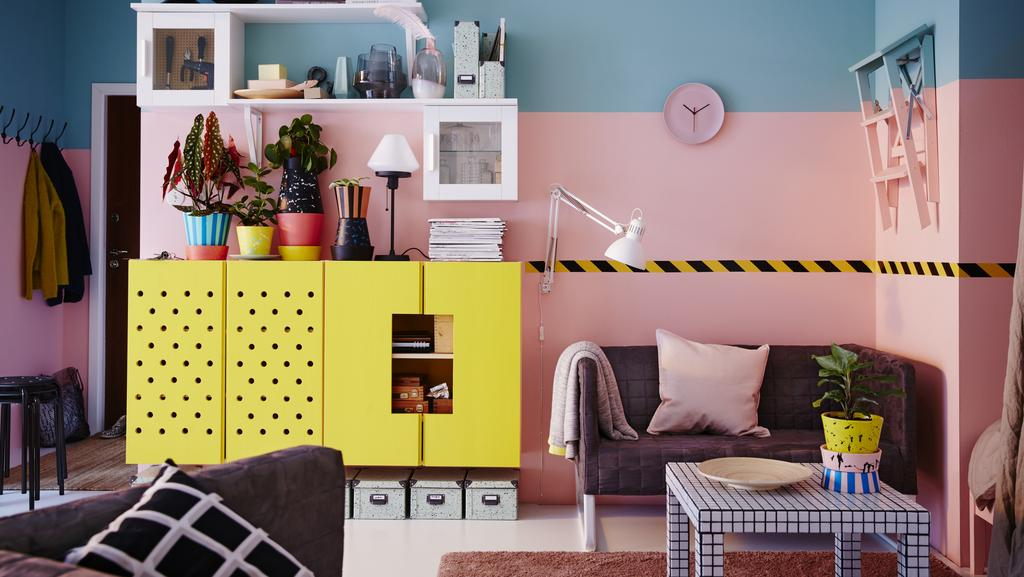 "Ikea furniture is almost made for reinvention. Whether it's painting terracotta pots or pieces of furniture, decorate them to suit your own style. Picture:  <a href=""http://www.ikea.com/?ccTLD=AU"" target=""_blank"">ikea.com.au</a>"