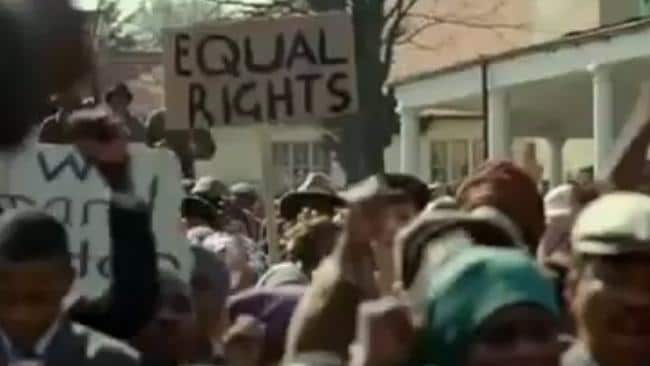 The film examines Nelson Mandela's imprisonment in apartheid-torn South Africa.