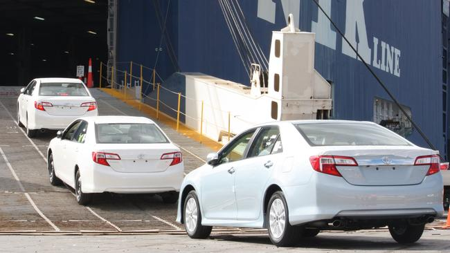 Toyota's Camry export business was worth $1 billion a year. Photo: Supplied