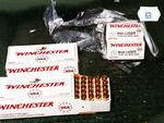 Boxes of 9mm full metal jacket ammunition found in Bradley John Murdoch's Toyota Landcruiser. Picture: Police evidence.